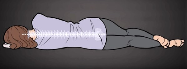 how to sleep on your side correctly