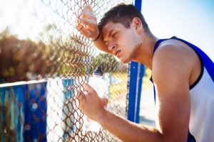 exercising at heat sweat